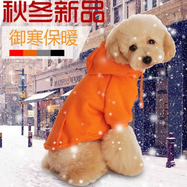 糖衣子輕鬆購【DZ0402】連帽寵物衣服保暖款小型犬中型犬貓咪衣服狗狗衣服