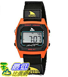 [106美國直購] Freestyle 手錶 Unisex 102244 B00BK287XO Shark Fast Strap Retro 80's Digital Black and Red Watch
