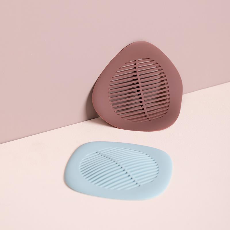 地漏墊防臭器下水道地漏浴室廚房毛發過濾網洗手池防堵塞創意硅膠