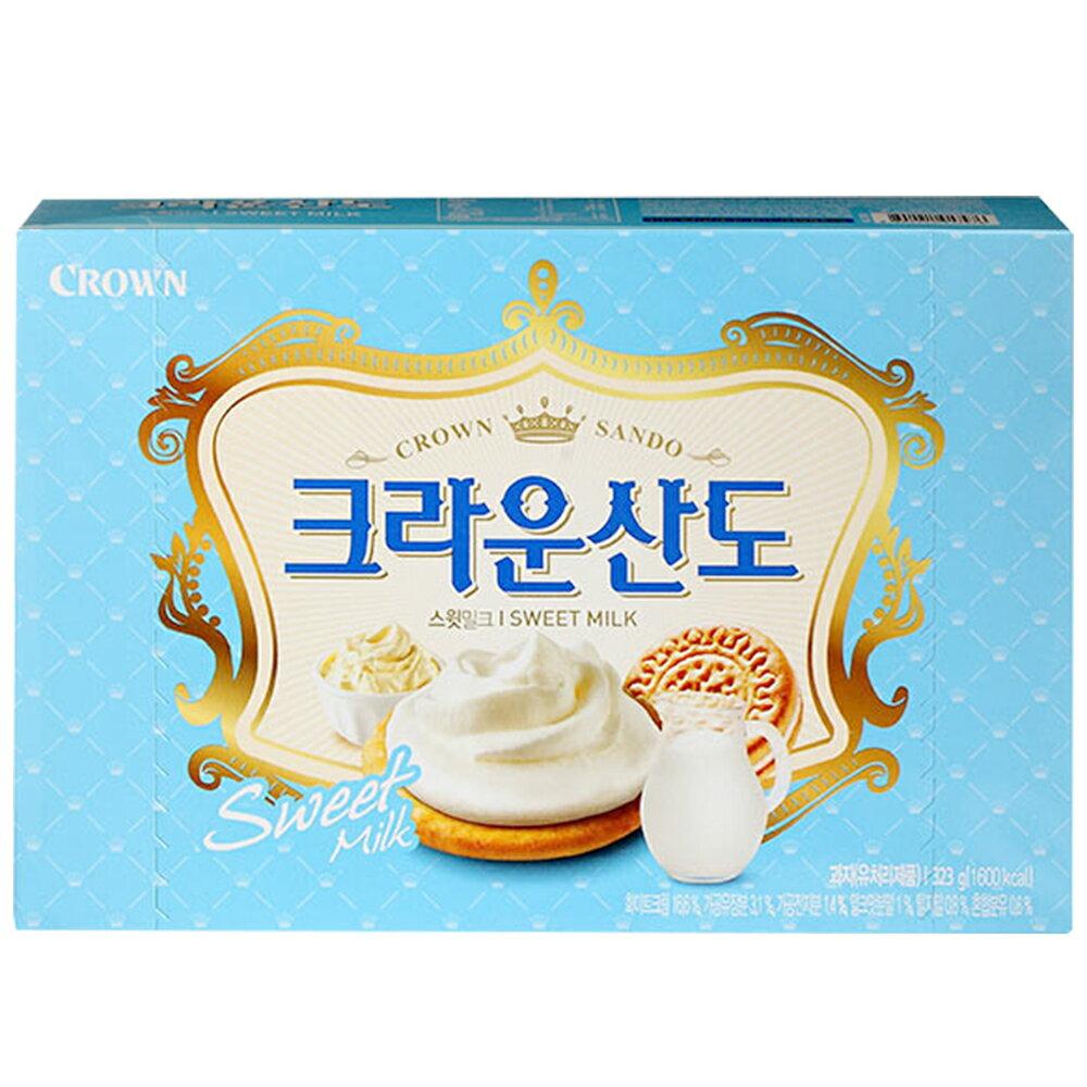 Crown 牛奶三明治餅乾(161g)