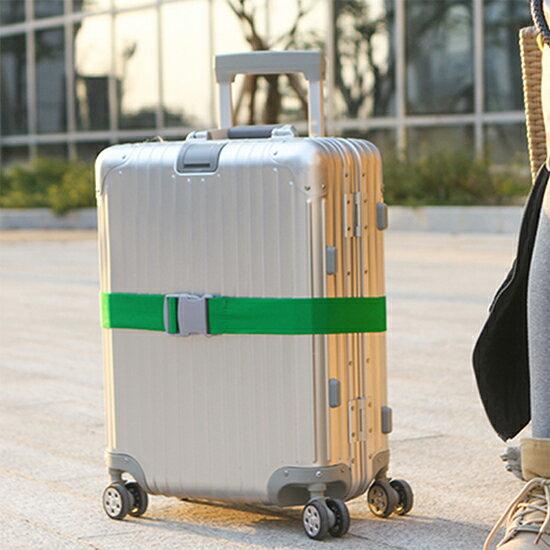 ♚MY COLOR♚行李箱加固綑綁帶 旅行 出差 綁帶 一字打包帶 拉桿箱 旅行箱 托運捆綁帶 保護 安全【L189】