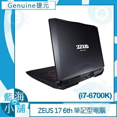 Genuine 捷元 ZEUS 17 6th (GTX980)-1Q 筆記型電腦