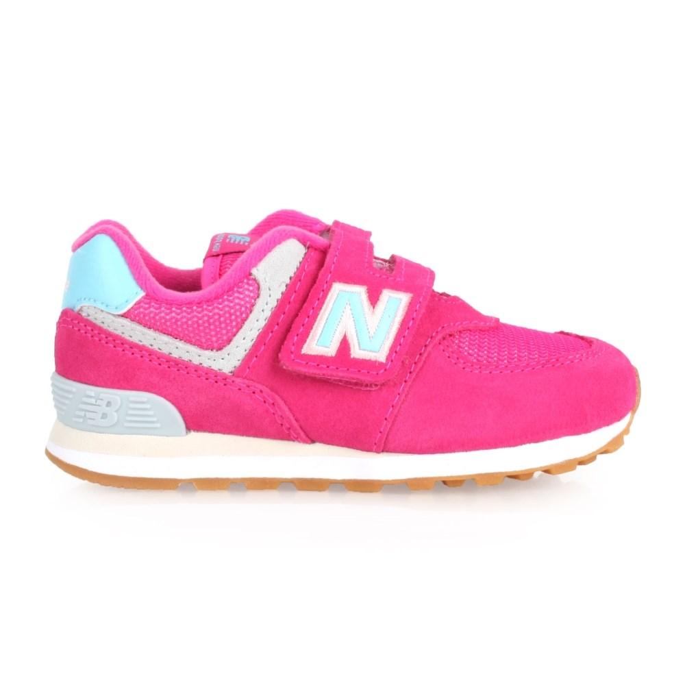 NEW BALANCE 574系列 女兒童復古慢跑鞋(免運 路跑 NB【02017357】≡排汗專家≡