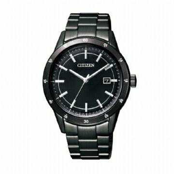 CITIZEN 極黑雅量風格時尚腕錶 AW1165-51E