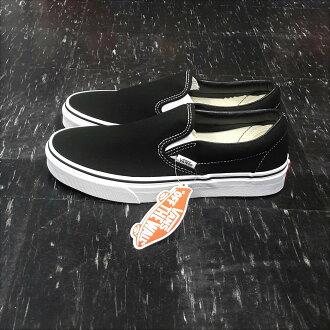 VANS Classic Slip On Black 懶人鞋 黑色 黑白 帆布 基本款 滑板鞋