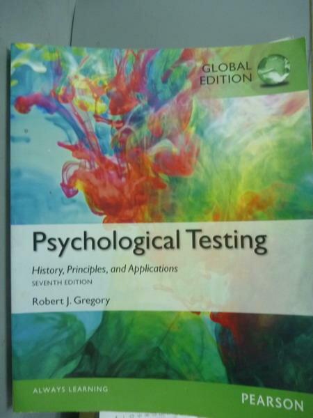 ~書寶 書T1/大學理工醫_QBF~Psychological Testing_Rober