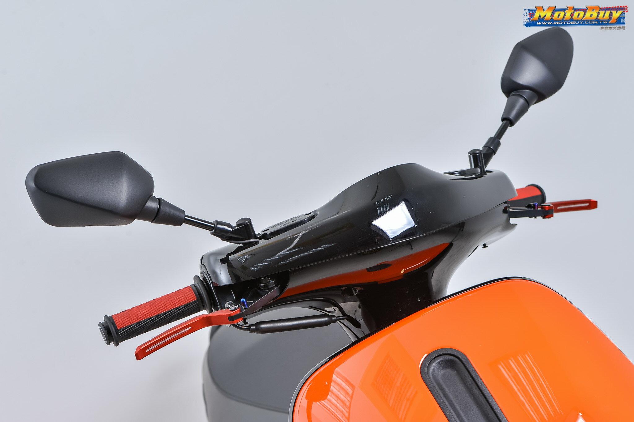 【LFM】APEXX GOGORO2 EC05 EC-05 可調式拉桿 煞車拉桿 剎車拉桿 附手剎車 鍍鈦柱 LEVER