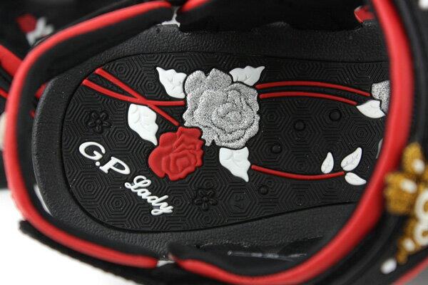 G.P 涼鞋 黑紅 女款 no620 4