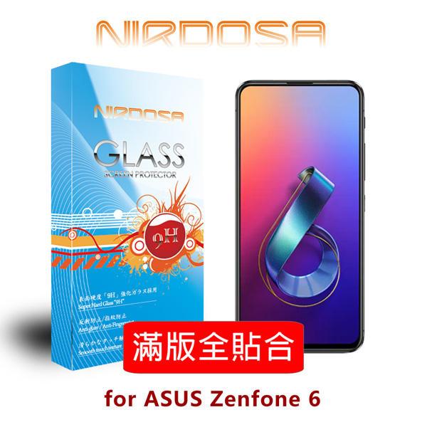 【愛瘋潮】99免運 NIRDOSA 滿版全貼合 ASUS Zenfone 6 (2019) ZS630KL 鋼化玻璃 螢幕保護貼