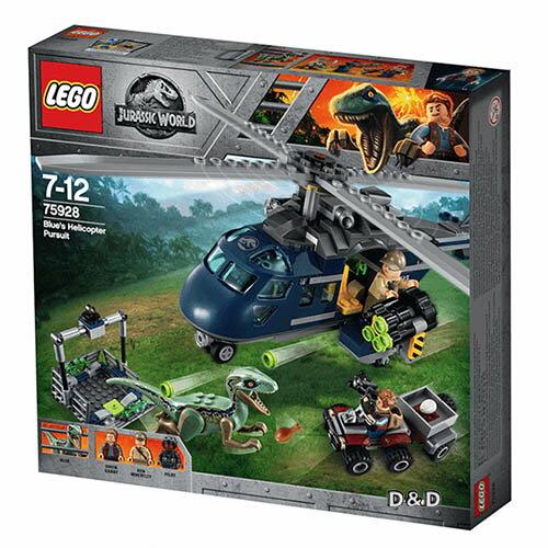 樂高積木LEGO《LT75928》JurassicWorld侏儸紀世界系列>BluesHelicopterPursuit