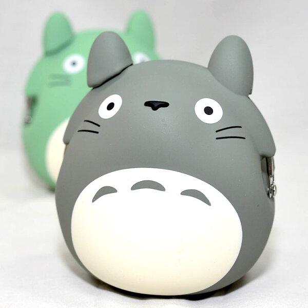 TOTORO龍貓造型矽膠零錢包mimiPOCHI日本正版
