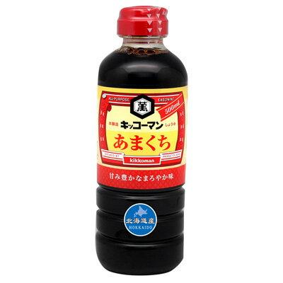 [即期良品]龜甲萬北海道甘口醬油 (500ml) *賞味期限:2017/02/28*
