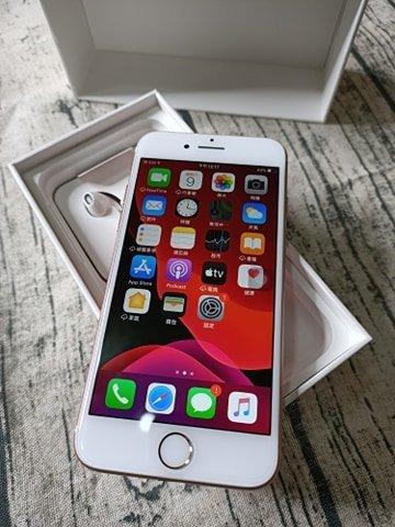Apple iPhone 7 玫瑰金 128GB 附配件  售後保固1個月 618購物節 7