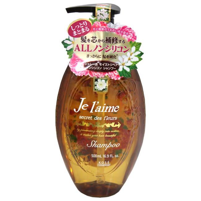 KOSE 保濕修護洗髮精-白色花香500ml