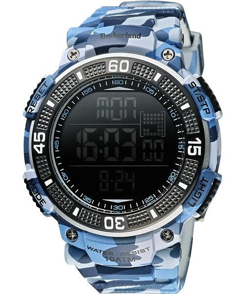 Timberland 天柏嵐 TBL.13554JPBL/02迷彩多功能數位腕錶/黑50mm
