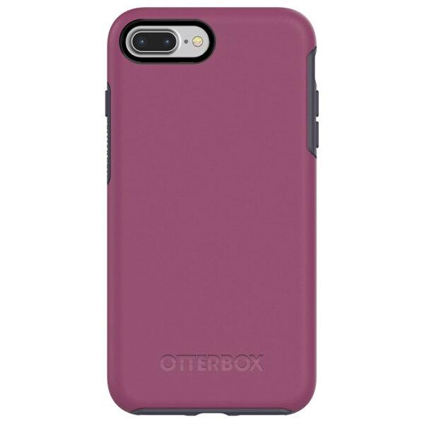 貝殼嚴選:【貝殼】OtterBoxSymmetrySeries炫彩幾何iPhone8PlusiPhone7Plus手機殼防摔殼-紫灰