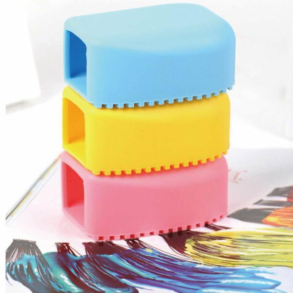 糖果色手握式加厚矽膠洗衣刷【櫻桃飾品】【25456】