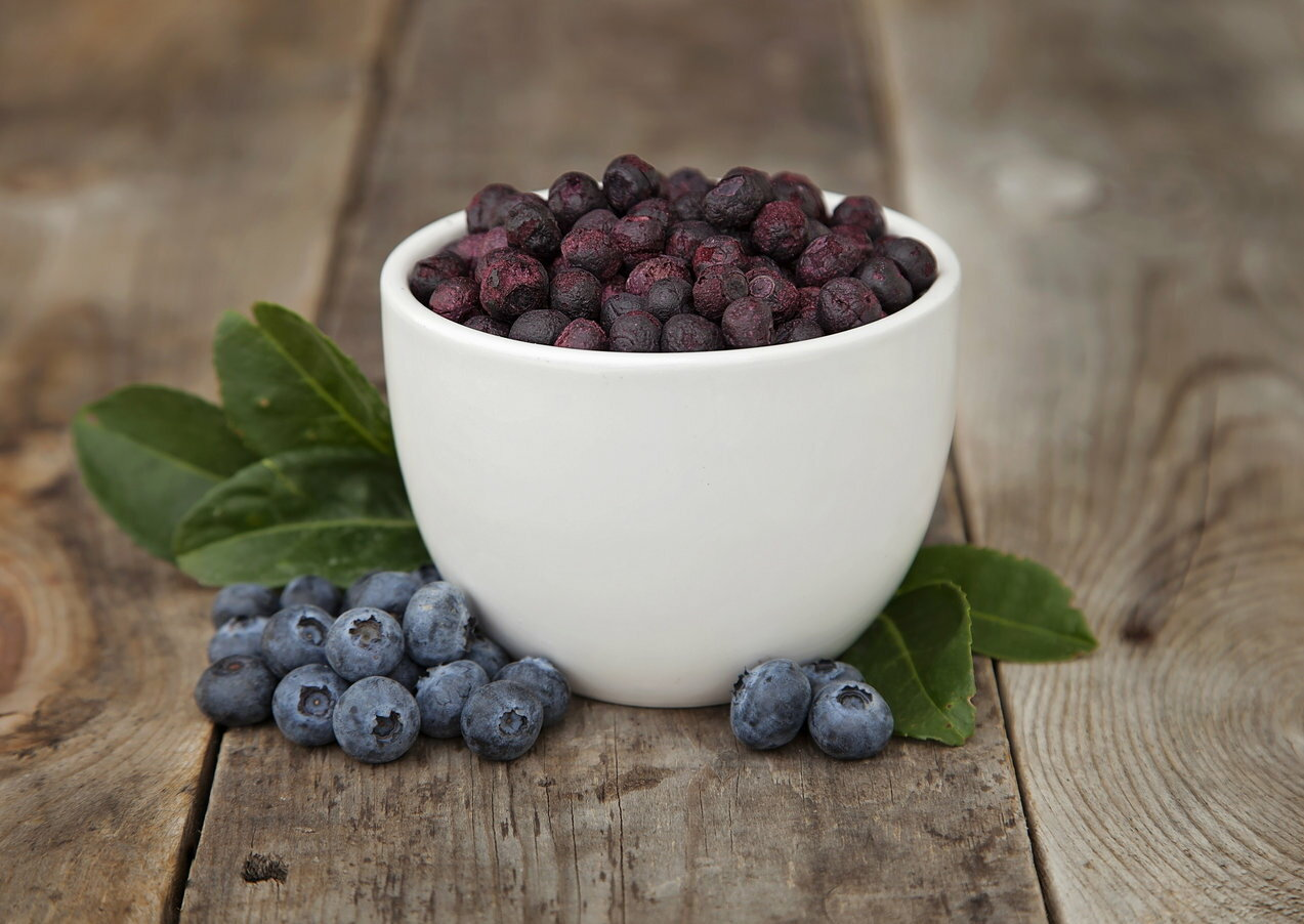 Freeze Dried Blueberries 0
