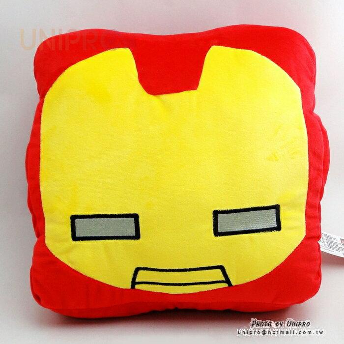 【UNIPRO】Marvel 鋼鐵人 IRON MAN 暖手枕 靠背枕 抱枕 漫威正版授權