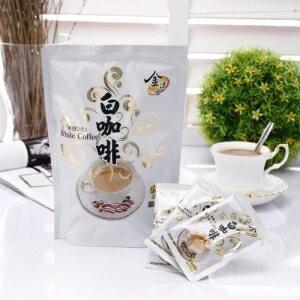 【啡茶不可】低卡無加糖二合一白咖啡(馬來西亞怡保市特產 15包/袋)