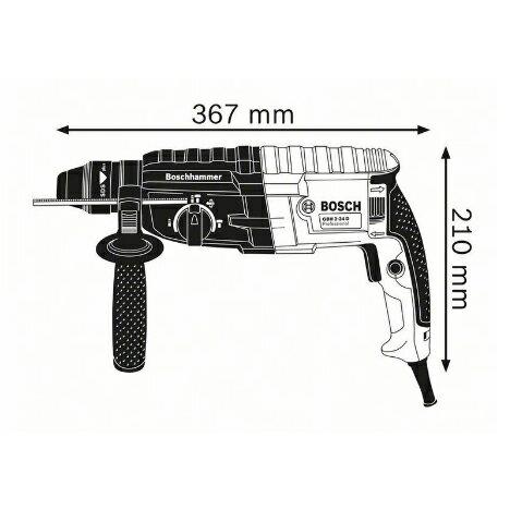 德國BOSCH 博世 GBH 2-24RE強勁790W 兩用/四溝 免出力 鎚鑽 槌鑽 電鑽 原廠保固一年
