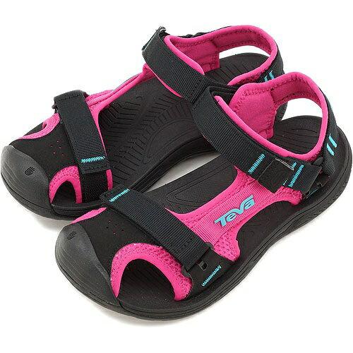 [陽光樂活] TEVA(女) HURRICANE 避震耐磨 護趾水陸兩用運動涼鞋 TV1000357PINK
