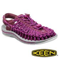 keen女鞋推薦推薦到Keen UNEEK 女 編織款拉繩涼鞋 暗紅/灰 1014984就在桃源戶外登山露營旅遊用品店推薦keen女鞋推薦