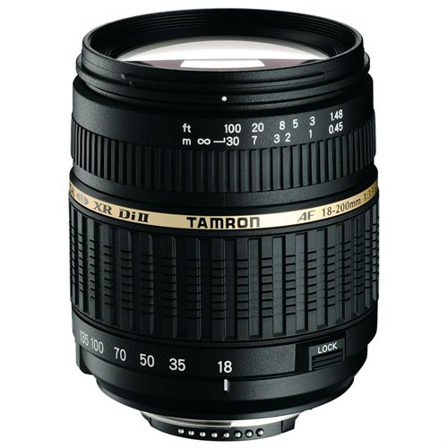 Tamron A14 AF 18-200mm F/3.5-6.3 XR Di-II LD Aspherical (IF) Macro Zoom Lens - 0.27x - 18mm to 200mm - f/3.5 to 6.3
