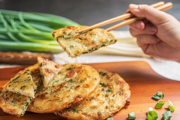 宜蘭星寶蔥油餅(純正三星蔥)