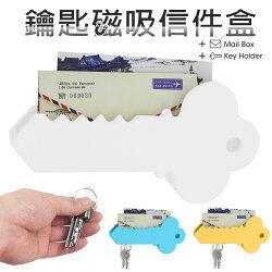 創意大鑰匙磁力收納器 多功能鑰匙磁吸收納 鑰匙磁力收納器 磁吸式 鑰匙造型收納 鑰匙掛 鑰匙信件盒 名片收納 家居禮品