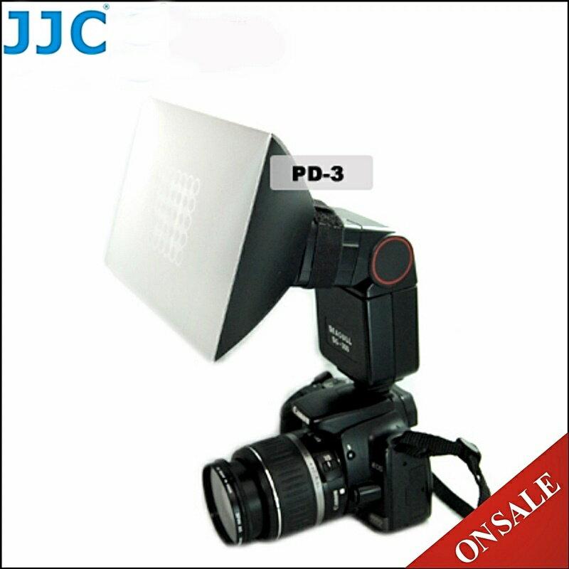 又敗家~JJC 型類吹氣泡閃光燈柔光盒PD~3外閃燈柔光罩適Canon佳能600EX~RT