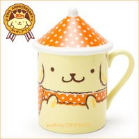 布丁狗周邊商品推薦到asdfkitty可愛家☆布丁狗20週年皇冠系列-有蓋陶瓷馬克杯-日本製