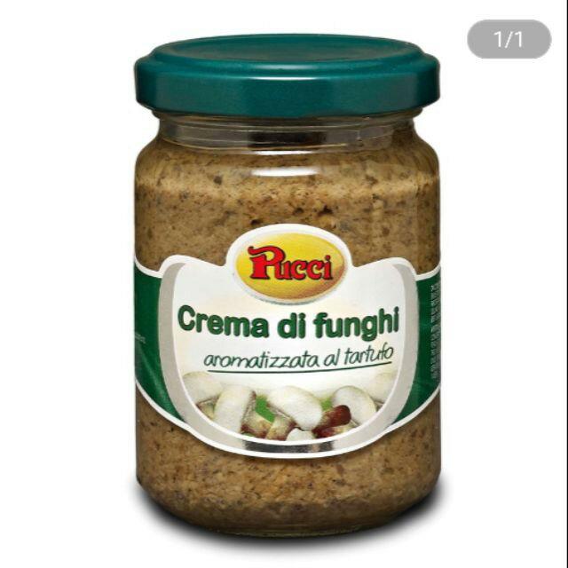 義大利Pucci松露風味菌菇抹醬 TRUFFLE 130克
