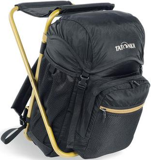 Tatonka 椅子包/折椅背包/折凳背包 Fischerstuhl 20升 TTK2295-030 黑/金
