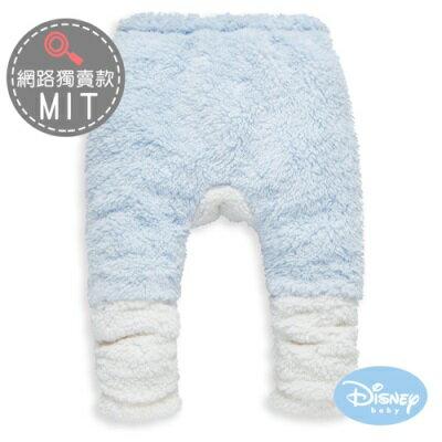 DisneyBaby 暖暖米奇雪花絨長褲