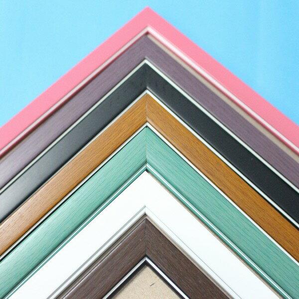 500片拼圖框 台灣製原木條/一個入{促350} 木框 相框 證書框 油畫框 38cm x 52cm
