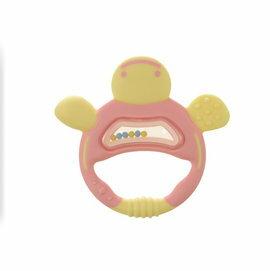 Richell利其爾 - 固齒器 粉紅色手指型 (盒裝)