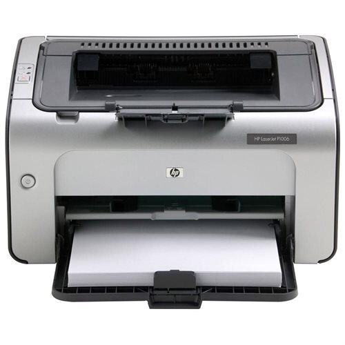 HP LaserJet P1006 Monochrome Laser Printer 0