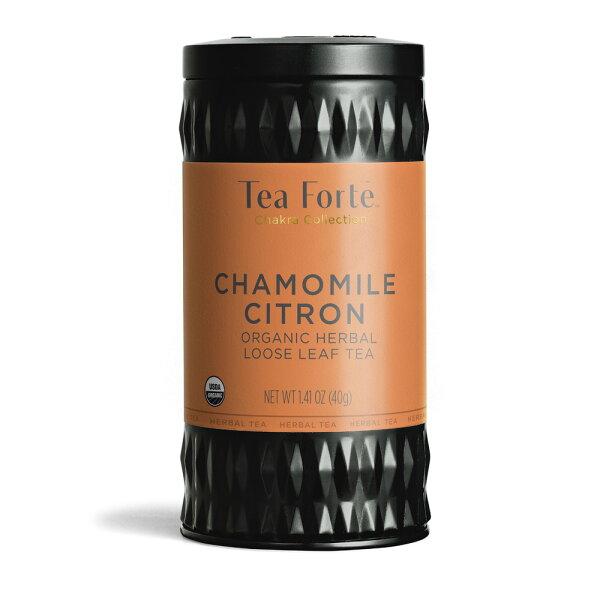 TeaForte罐裝茶系列-洋甘菊香櫞茶ChamomileCitron