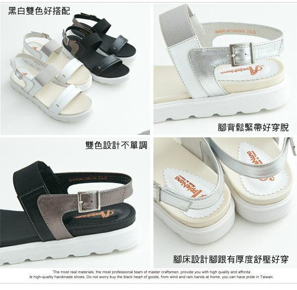AppleNana。最強搭配無限制鬆緊輕亮化氣墊涼鞋【QC142201380】蘋果奈奈 3