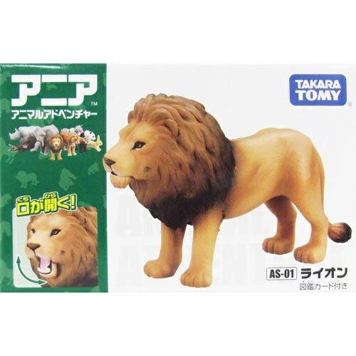 《TAKARA TOMY》多美動物ANIA AS01-獅子 東喬精品百貨