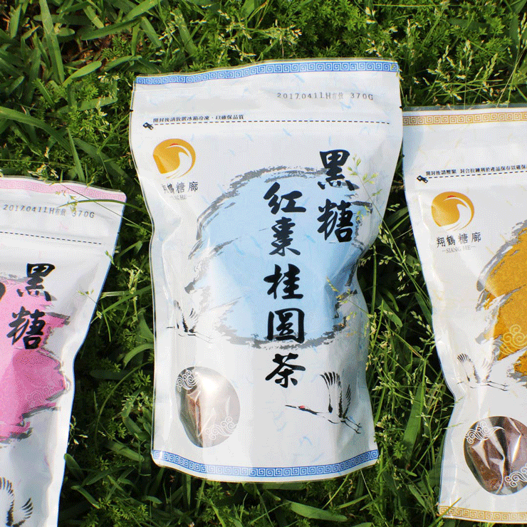 【翔鶴糖廓】黑糖桂圓紅棗茶(大顆,370g) 4