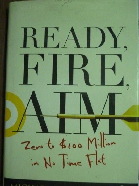 ~書寶 書T5/原文書_QMB~Ready Fire Aim_Masterson