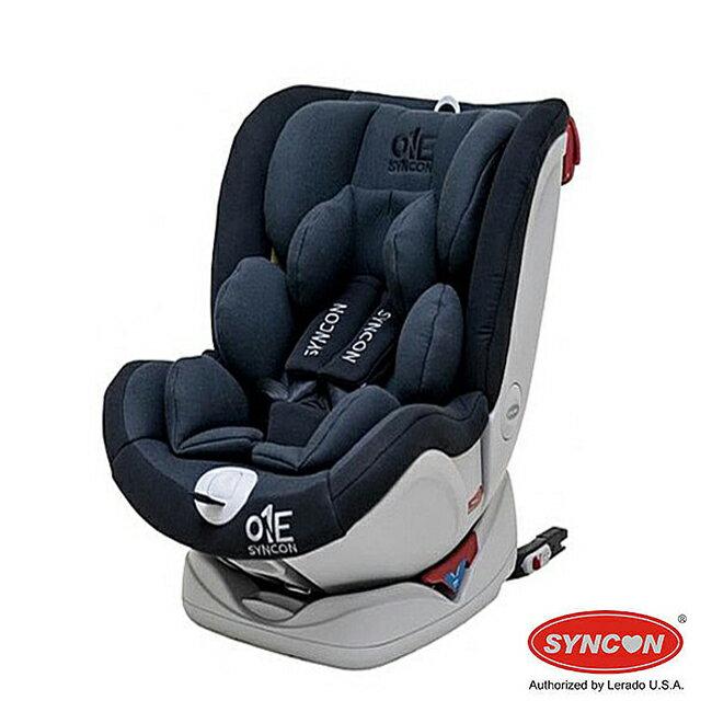 【店長指定款→買就送涼被】欣康 SYNCON 0-12歲 ONE ISOFIX 汽車安全座椅-黑色