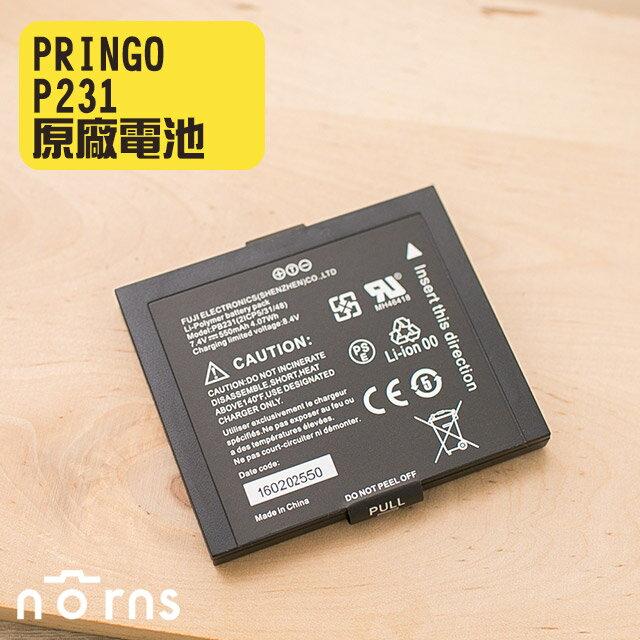 NORNS 【PRINGO P231原廠電池】相片沖印機 相片印表機 相印機 battery