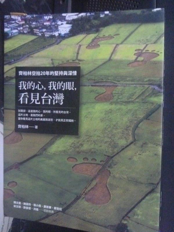 【書寶二手書T1/一般小說_XDR】我的心,我的眼,看見台灣_齊柏林