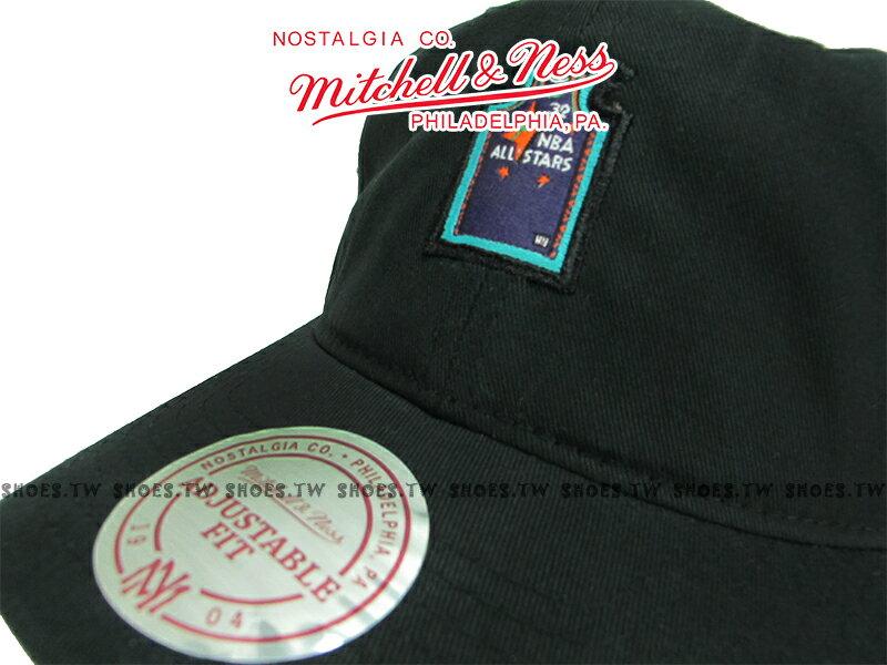 《下殺6折》Shoestw【5056133944402】Mitchell & Ness 老帽 SNAPBACK 明星賽 球衣 黑色 1