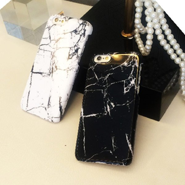 大理石 花崗岩 仿真 石頭 iPhone 6 I6 PLUS I5 5S 手機殼 光滑面 保護套