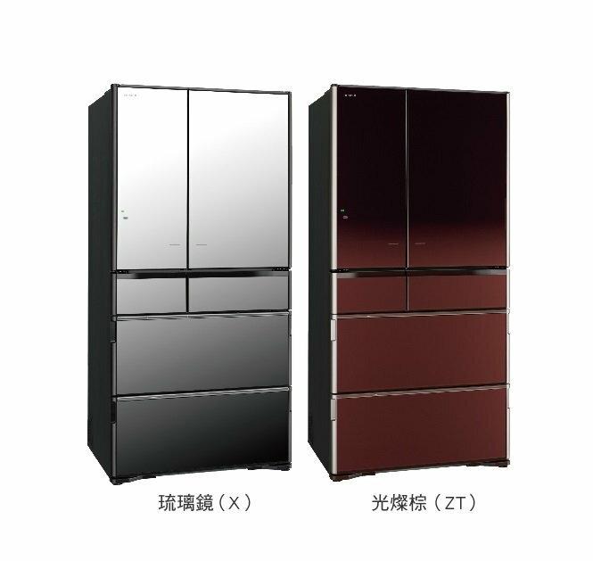 日立 HITACHI 730L六門琉璃 RX730FJ   R~X730FJ ‵無能效一級