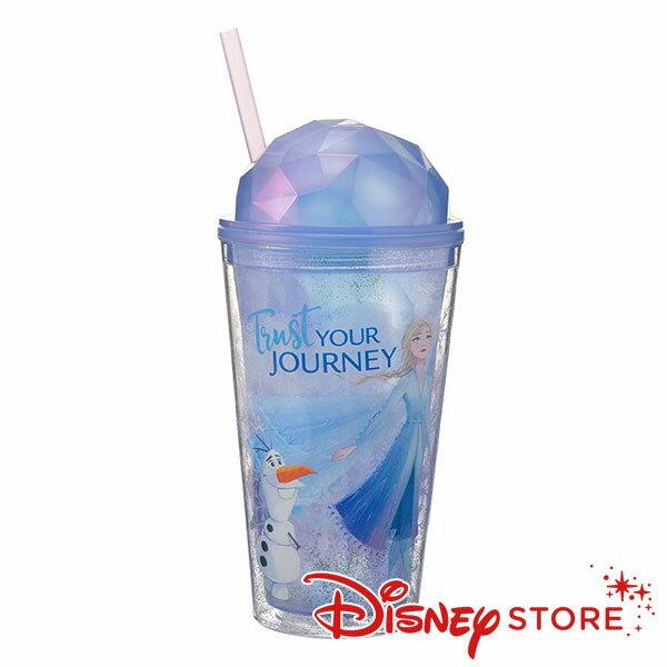 日本迪士尼 Disney Frozen 冰雪奇緣 寶石水杯  冷水杯  470ml  。日本必買 日本樂天代購(1937) 1
